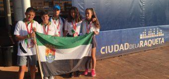Finalizó la presencia extremeña en el Campeonato de España Infantil