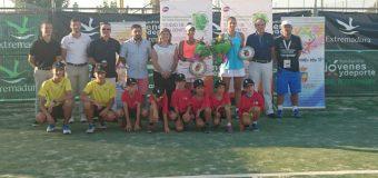"""Finalizó el II Torneo Internacional de Tenis Femenino """"Ciudad de Don Benito"""""""