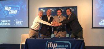 Presentación del Circuito Nacional IBP Uniuso Tennis Series en Madrid