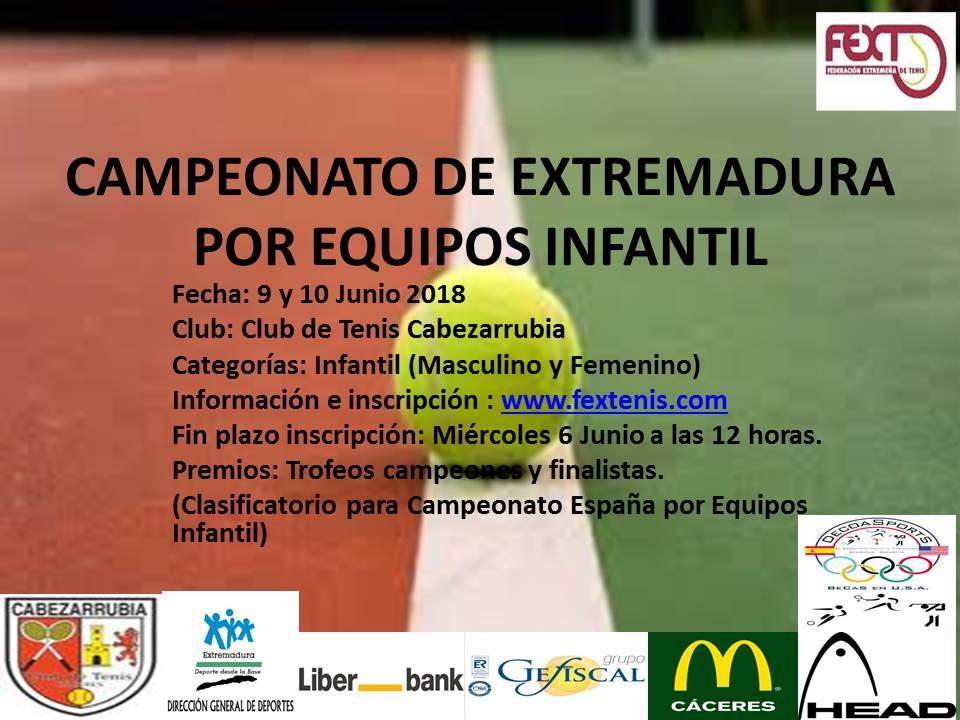 Campeonato de Extremadura Infantil por Equipos