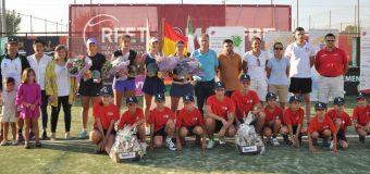 Final de dobles del III Torneo Internacional Ciudad de Don Benito