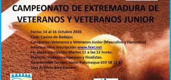 Ángel Prado Campeón de Extremadura de Veteranos 2016