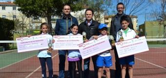 Pablo Aunión y Candela Valverde Campeones de Extremadura Benjamín en el C.T.Montijo