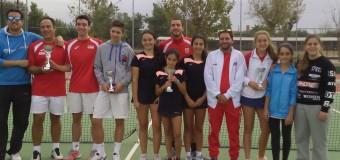 Casino de Badajoz y C.T.Cabezarrubia Campeones de Extremadura por Equipos Absoluto