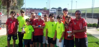 C.T.Navalmoral y T.C. Villanueva Campeones de Extremadura Alevín por Equipos en el C.T.El Corzo de Badajoz
